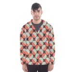 Modernist Geometric Tiles Hooded Wind Breaker (Men)