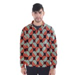 Modernist Geometric Tiles Wind Breaker (Men)