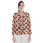 Modernist Geometric Tiles Wind Breaker (Women)