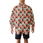 Modernist Geometric Tiles Wind Breaker (Kids)