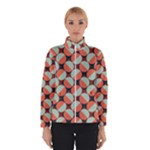Modernist Geometric Tiles Winter Jacket