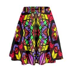 Sea Leau High Waist Skirt by MRTACPANS