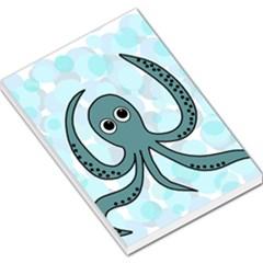 Octopus Large Memo Pads by Valentinaart