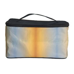 Blue Yellow Summer Pattern Cosmetic Storage Case by Costasonlineshop