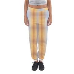 Blue Yellow Summer Pattern Women s Jogger Sweatpants by Costasonlineshop