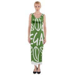 Vegan Label3 Scuro Fitted Maxi Dress by CitronellaDesign