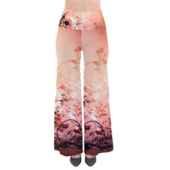 Wonderful Flowers In Soft Colors With Bubbles Pants by FantasyWorld7