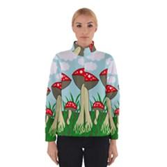 Mushrooms  Winterwear by Valentinaart