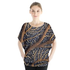 Trees Forests Pattern Blouse by Zeze