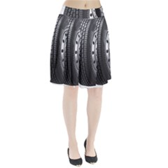 Tire Pleated Skirt by Zeze