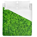 Shamrock Clovers Green Irish St  Patrick Ireland Good Luck Symbol 8000 Sv Duvet Cover Single Side (Queen Size) View1