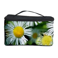 White summer flowers oil painting art Cosmetic Storage Case by picsaspassion