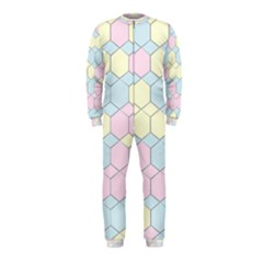 Colorful honeycomb - diamond pattern OnePiece Jumpsuit (Kids) by picsaspassion