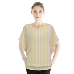 Summer sand color pink stripes Blouse by picsaspassion