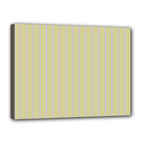 Summer Sand Color Lilac Stripes Canvas 16  X 12  by picsaspassion