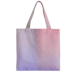 Colorful Colors Zipper Grocery Tote Bag by picsaspassion