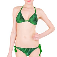 Green Abstract Forest Bikini by DanaeStudio