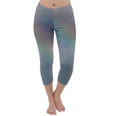 Rainbow In The Sky Capri Winter Leggings  by picsaspassion