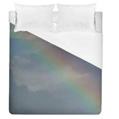 Rainbow In The Sky Duvet Cover Single Side (queen Size)