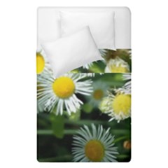 White Summer Flowers Oil Painting Art Duvet Cover (single Size) by picsaspassion