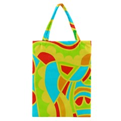 Colorful Decor Classic Tote Bag by Valentinaart