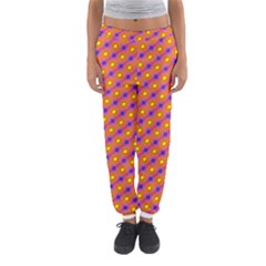 Vibrant Retro Diamond Pattern Women s Jogger Sweatpants