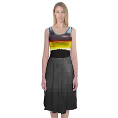 Love Sunset Midi Sleeveless Dress by Contest2483978