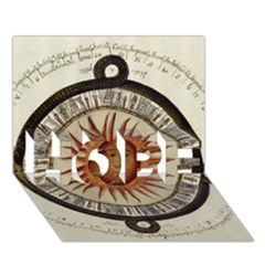 Ancient Aztec Sun Calendar 1790 Vintage Drawing Hope 3d Greeting Card (7x5) by yoursparklingshop