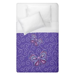Butterfly Duvet Cover (single Size) by olgart
