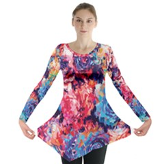 Fiona Floral Long Sleeve Tunic