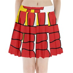 Flag Of Nunavut  Pleated Mini Skirt by abbeyz71