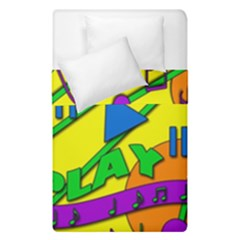 Music Duvet Cover Double Side (single Size) by Valentinaart