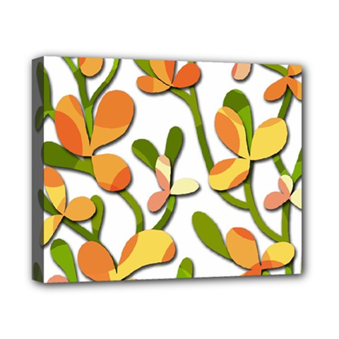 Decorative Floral Tree Canvas 10  X 8  by Valentinaart