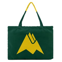 Flag Of Biei, Hokkaido, Japan Medium Zipper Tote Bag