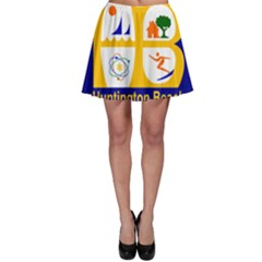 Flag Of Huntington Beach, California Skater Skirt by abbeyz71