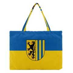 Flag Of Leipzig Medium Tote Bag