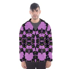 FLOWER OF LIFE Hooded Wind Breaker (Men) by MRTACPANS