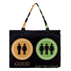 Bad Good Excellen Medium Tote Bag by AnjaniArt