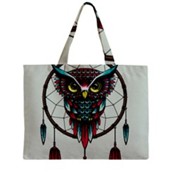 Bird Zipper Mini Tote Bag