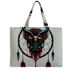 Bird Zipper Mini Tote Bag