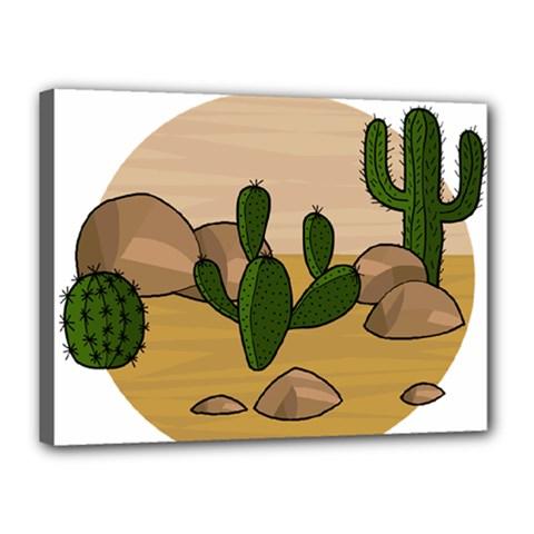 Desert 2 Canvas 16  X 12  by Valentinaart