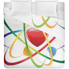 Love Duvet Cover Double Side (King Size) by Zeze