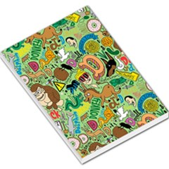 D Pattern Large Memo Pads by AnjaniArt