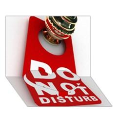Do Not Disturb Heart Bottom 3D Greeting Card (7x5) by AnjaniArt