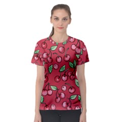Cherry Cherries For Spring Women s Sport Mesh Tee