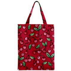 Cherry Cherries For Spring Zipper Classic Tote Bag