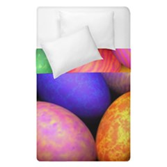 Easter Egg Duvet Cover Double Side (single Size) by AnjaniArt