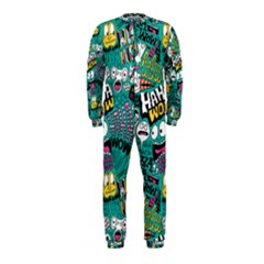 Haha Wow Pattern Onepiece Jumpsuit (kids) by AnjaniArt