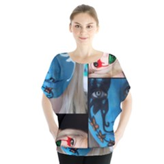 Holliwood Face Painting Blouse by AnjaniArt