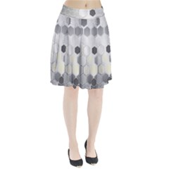 Honeycomb Pattern Pleated Skirt by Zeze